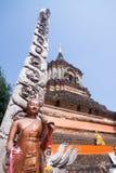 Wat Lokmolee Fotografia Stock