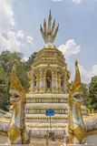 Wat Lokmolee Chaingmai, Thailand. Royalty Free Stock Images