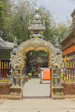 Wat Lokmolee, Chaingmai, Thailand. Royalty Free Stock Photography