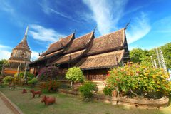 Wat Lokmolee. At Chiang Mai - North Thailand Royalty Free Stock Image