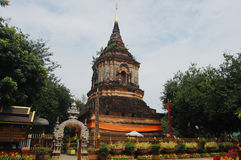 Wat Lokmolee Chiang Mai Thailand Royaltyfri Foto