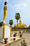 wat luang Лаоса стоковая фотография