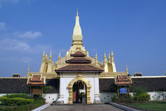 Wat That Luang Royalty Free Stock Photo