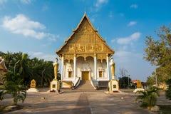 Wat That Luang Neua i Vientine, Laos Arkivfoton