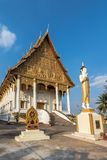 Wat That Luang Neua in Vientine, Laos royalty free stock photo