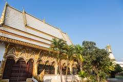 Wat Luang Pakse i Laos Royaltyfria Foton