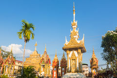 Wat Luang Pakse in Laos Stock Image