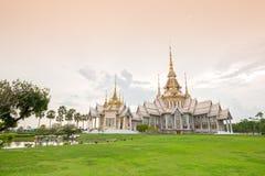 Wat Luang Pho Toh temple  in Nakhon Ratchasima province, Thailan Royalty Free Stock Photos