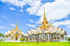 Wat Luang Pho Toh,thailand. Wat Luang Pho Toh temple or Wat Non Kum temple in Nakhon Ratchasima province, Thailand The public anyone access Stock Photos