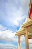 Wat Luang Phor Toh Roof Arkivbilder