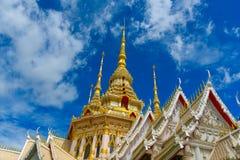 Wat Luang Phor Toh-tempel Stock Afbeeldingen