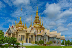 Wat Luang Phor Toh temple. Wat Luang Phor Toh temple in Nakhon Ratchasima,Thailand Royalty Free Stock Photos
