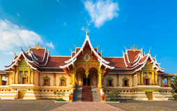 Wat That Luang Tai in Vientine, Laos royalty free stock photography