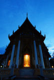 Wat Lum in the evening Stock Images