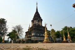 Wat Maha, świątynie Luang Prabang, Laos Światowego dziedzictwa miasteczko zdjęcia stock