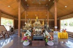 Wat Maha что ремень челки Wachiramongkol Wat известный висок в провинции Krabi, Таиланд Это красивый буддийский висок Стоковое фото RF
