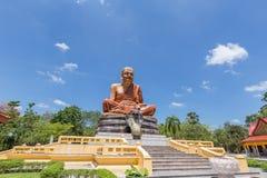 Wat Maha что ремень челки Wachiramongkol Wat известный висок в провинции Krabi, Таиланд Это красивый буддийский висок Стоковое Изображение