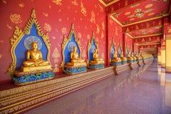 Wat Maha что ремень челки Wachiramongkol Wat известный висок в провинции Krabi, Таиланд Это красивый буддийский висок Стоковое Изображение RF