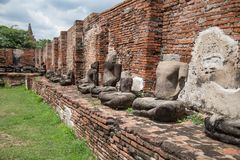 Wat Maha That fotos de archivo libres de regalías