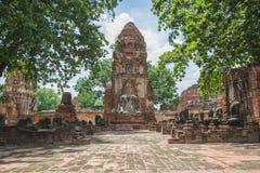 Wat Maha That Royalty-vrije Stock Afbeelding