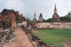 Wat Maha That, Ayutthaya, Tailândia Imagem de Stock