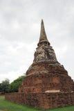Wat Maha That, Ayutthaya, Tailândia Fotografia de Stock Royalty Free
