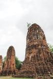 Wat Maha That, Ayutthaya, Thailand Lizenzfreie Stockfotos