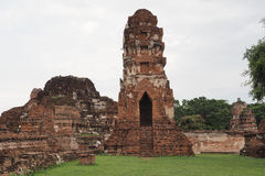 Wat Maha That, Ayutthaya, Thailand. The ruins of Wat Maha That (Temple of the Great Relics), a Buddhist temple in Ayutthaya, Thailand stock photography