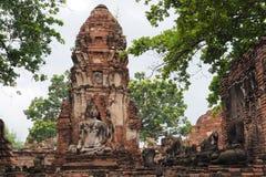 Wat Maha That, Ayutthaya, Thailand. Wat Maha That (Temple of the Great Relics), Ayutthaya, Thailand Royalty Free Stock Photography