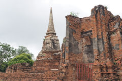 Wat Maha That, Ayutthaya, Thailand. Wat Maha That (Temple of the Great Relics), Ayutthaya, Thailand/ a World Heritage Site Stock Photography