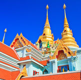 Wat Maha Chedi in Thailand Royalty Free Stock Photography