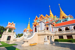 Wat Maha Chedi in Thailand Royalty Free Stock Image