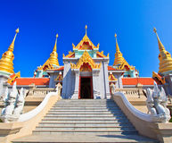 Wat Maha Chedi in Thailand Royalty Free Stock Photo
