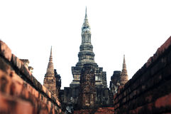 Wat Maha That in the Historical Royalty Free Stock Image