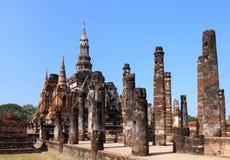 Wat Maha That, historischer Park Shukhothai Lizenzfreie Stockbilder