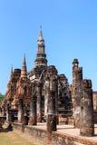 Wat Maha That, Shukhothai Historical Park Stock Photos