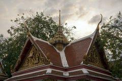 Wat Mahannapharam, Бангкок, Таиланд стоковые изображения
