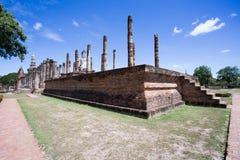 Wat Mahatat,历史公园 库存图片