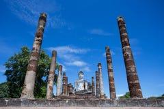 Wat Mahatat,历史公园 免版税库存图片