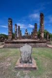 Wat Mahatat,历史公园 图库摄影