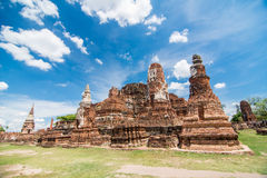 Wat Mahatat in Ayuttaya. Thailand Stock Photo