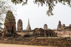 Wat Mahatat, Ayutthaya, Таиланд Стоковые Фотографии RF