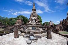 Wat Mahatat, Historisch Park royalty-vrije stock foto