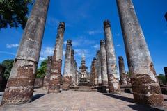 Wat Mahatat, historischer Park Stockbilder