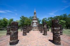 Wat Mahatat, historischer Park Stockfotografie