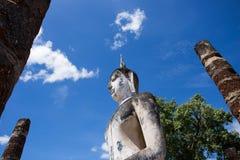 Wat Mahatat, parco storico Fotografia Stock Libera da Diritti