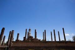 Wat Mahatat, parco storico Fotografie Stock Libere da Diritti