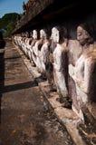 Wat mahatat sukhothai history park in thailand Stock Photos