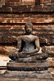 Wat mahatat sukhothai history park in thailand Royalty Free Stock Photo