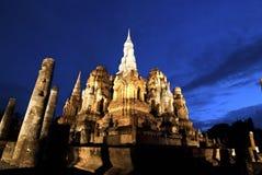 Wat Mahathai, Sukhothai Province Royalty Free Stock Image